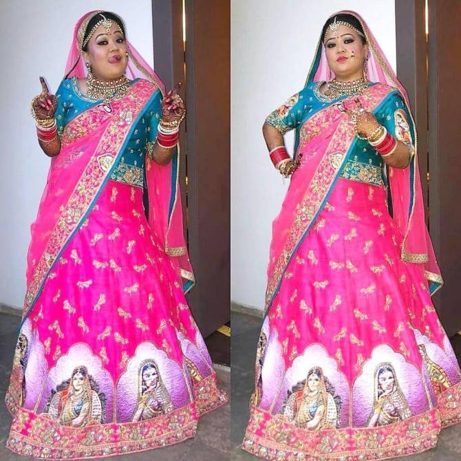 Bharti Singh in chooda