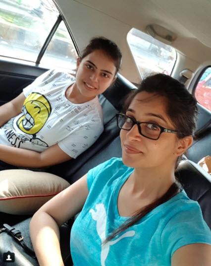 Dipika Kakar and Saba Ibrahim