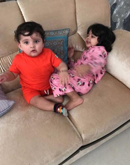 Sree Sanvika Sreesanth and Suryasree Sreesanth