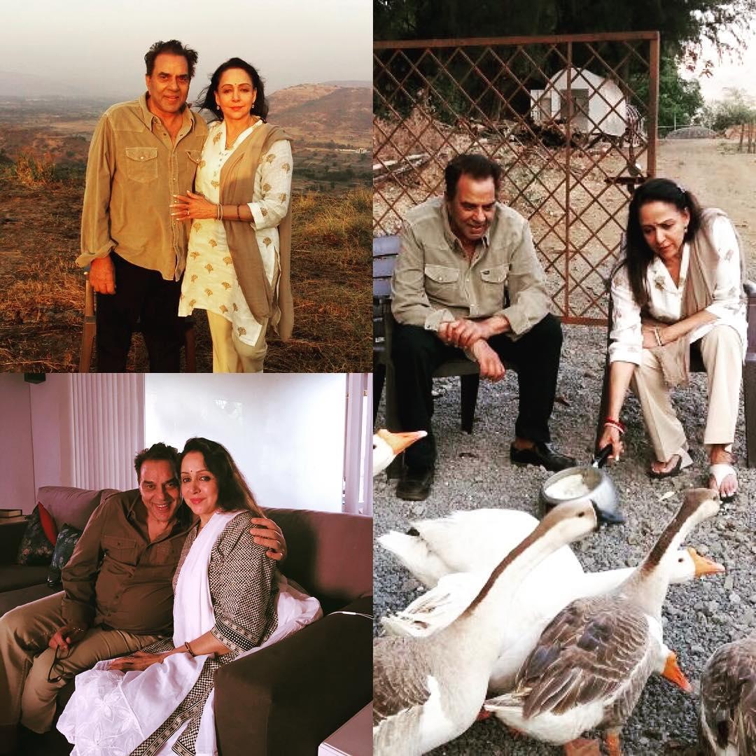 Dharmedra And Hema Malini