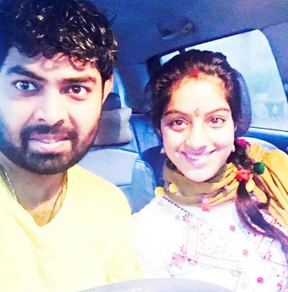 Deepika Singh and Rohit Raj