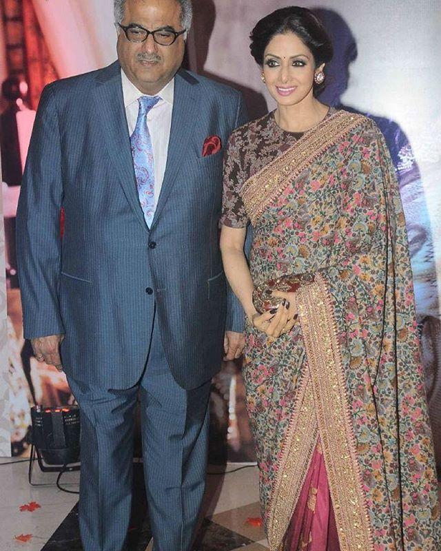 Sridevi Kapoor and Boney Kapoor