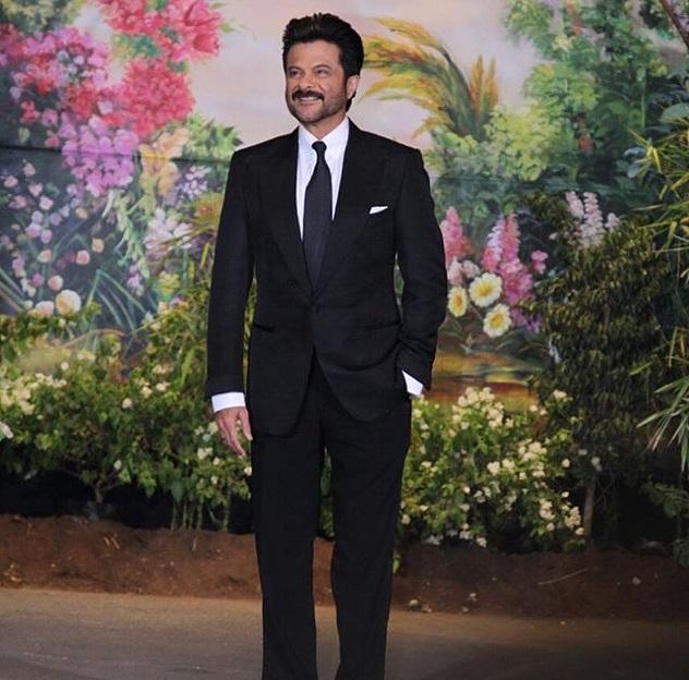 Anil Kapoor at Sonam's reception