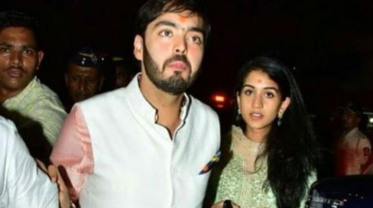 Mukesh Ambani and Radhika Merchant