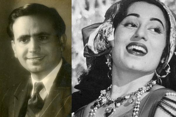 Kidar Sharma And Madhubala