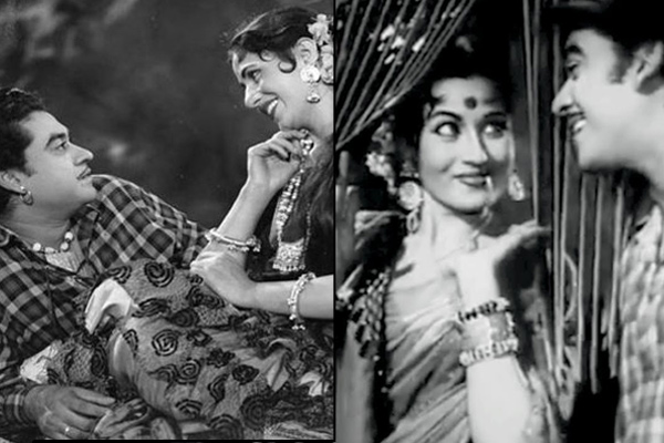 Kishore Kumar And Madhubala