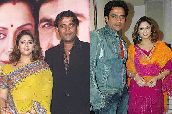 Nagma and Ravi Kishan