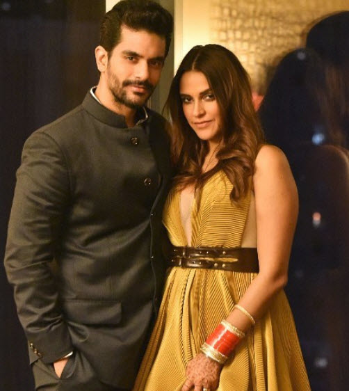 Neha Dhupia and Angad Bedi love story
