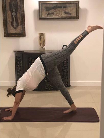 Sania Mirza workout