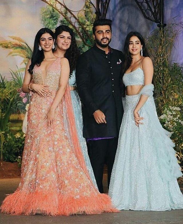 Arjun, Anshula, Janhvi and Khushi