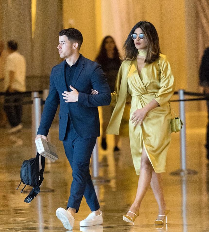 Priyanka Chopra And Nick Jonas