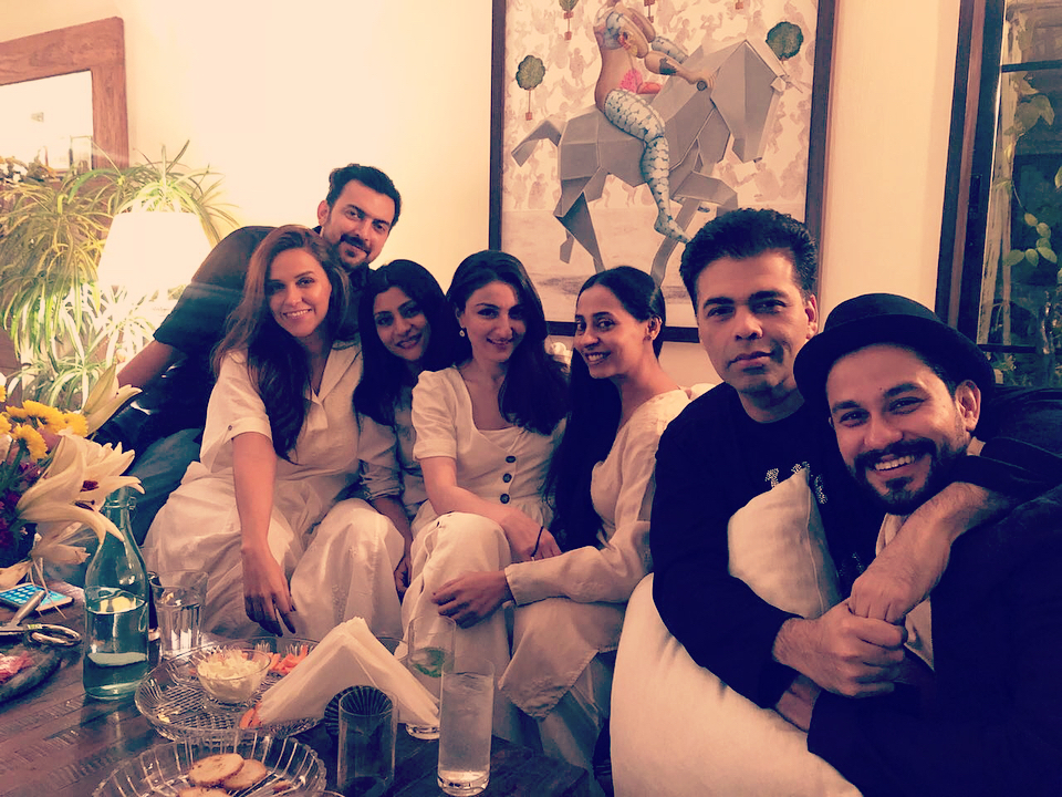 Dia Mirza Throws A Post Wedding Party For Neha Dhupia And Angad Bedi