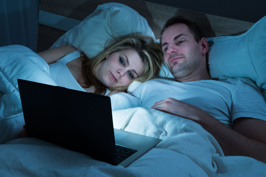 Avoid watching late night movies or series