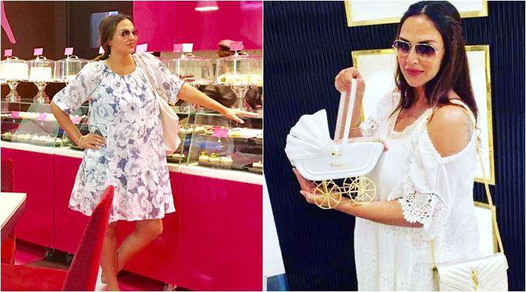 Esha Deol Pregnancy Fashion