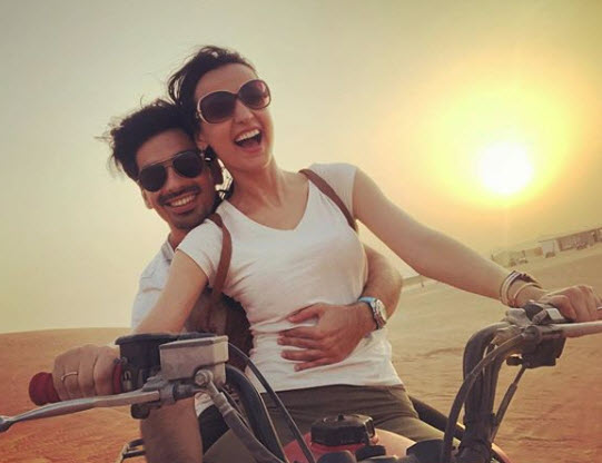 Sanaya Irani and Mohit sehgal swiss vacation