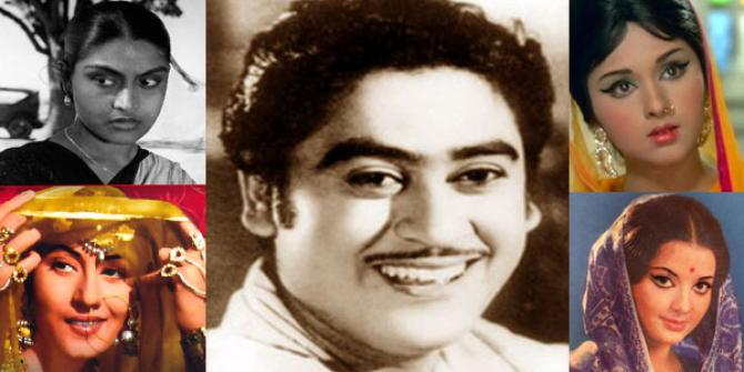 Women In Kishore Kumar's Life