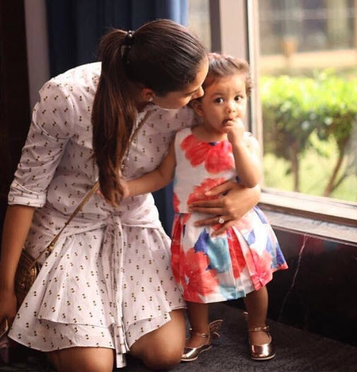 Misha Kapoor and Mira Kapoor
