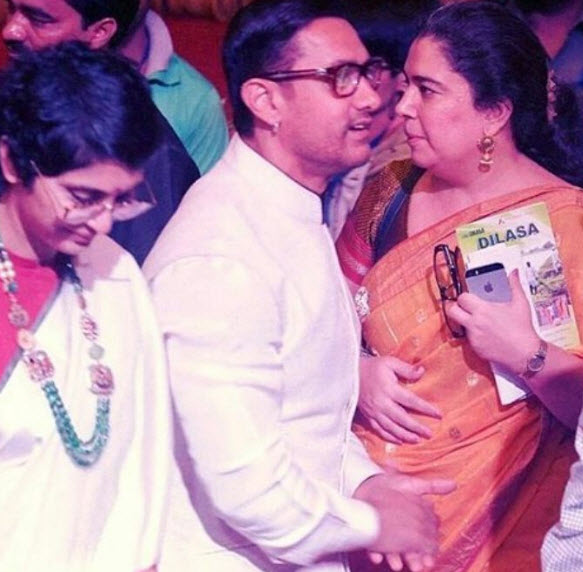Aamir khan talks about love life, falling for kiran rao and equation with Reena