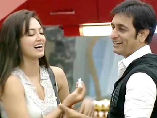 Sana Khan and Rajeev Paul