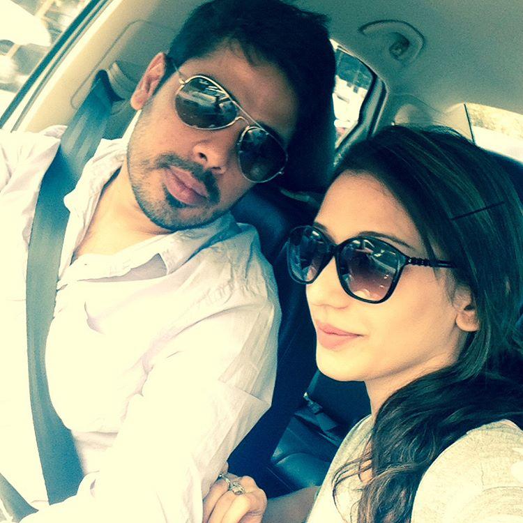 Heli Daruwala and Ankit Anand