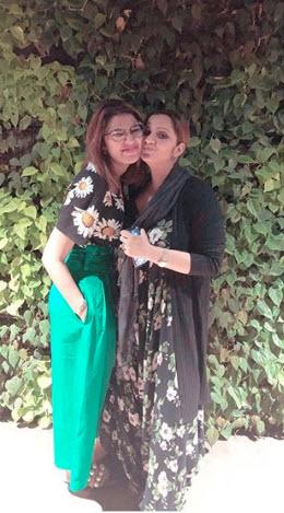 Sania Mirza and Anam Mirza
