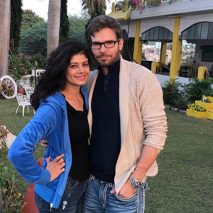 Pooja Batra and Christian Middelthon