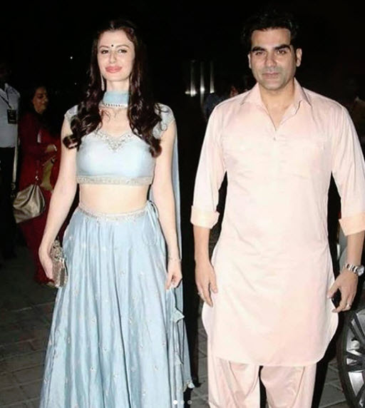 Arbaaz Khan and Georgia Andriani
