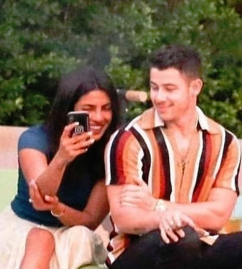 Priyanka Chopra-Nick Jonas And Sonam Kapoor-Anand Ahuja
