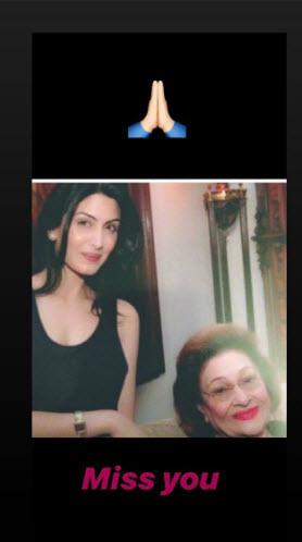 Krishna Raj Kapoor and Riddhima Kapoor Sahni