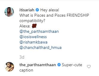 parth and ariah