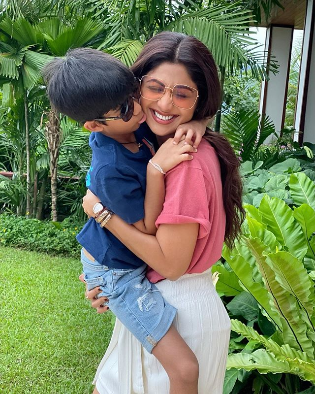Shilpa and Viaan