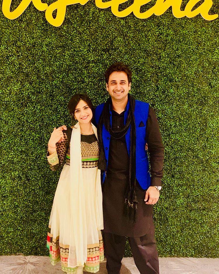 Aditi Sharma and Sarwar Ahuja