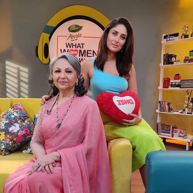 Sharmila Tagore and Kareena Kapoor Khan