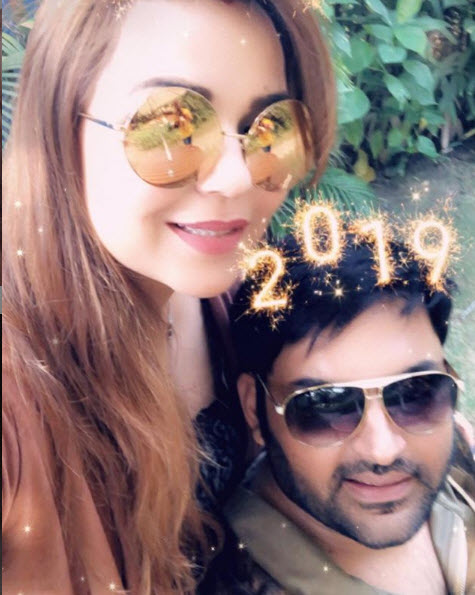 Kapil Sharma And Ginni Chatrath New Year