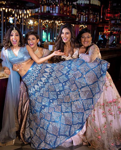 Neeti Mohan And Sisters From Her Bachelorette Shoot