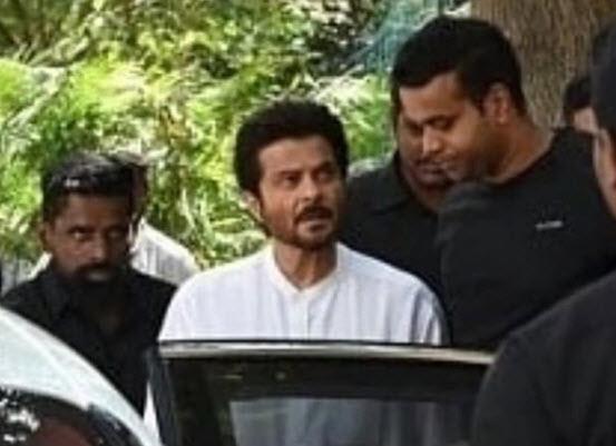 Boney Kapoor, Anil Kapoor Reach Chennai