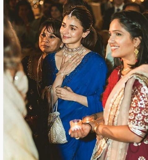 Alia from her friend, Devika's wedding