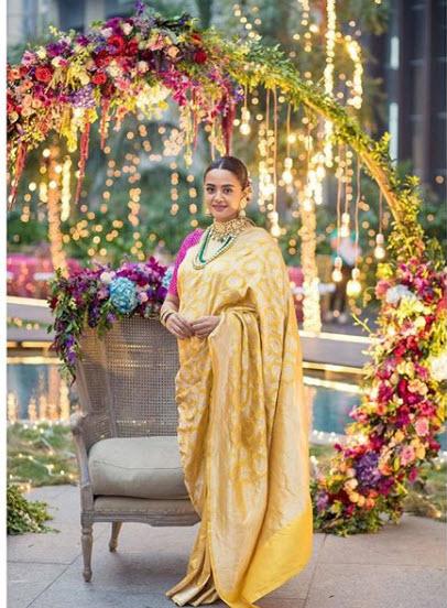 Surveen Chawla From Her 'Godh-Bharai' Ceremony
