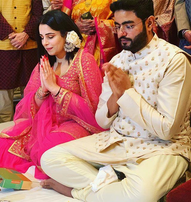 Siddharth Chopra and Ishita Kumar's roka ceremony