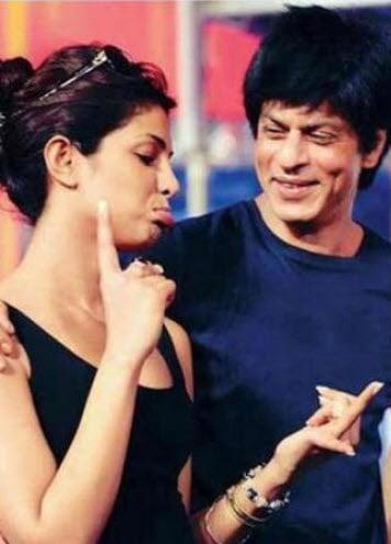 SRK and Priyanka