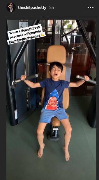Viaan Raj Kundra gym buddy