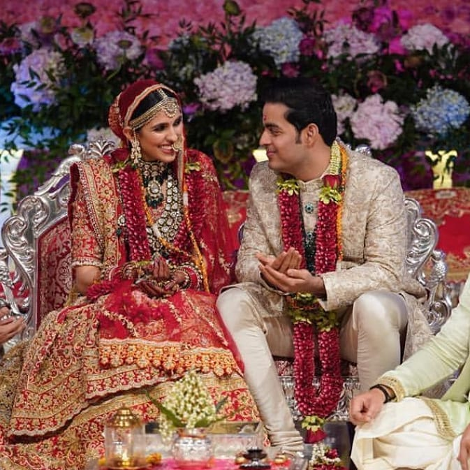 Shloka Mehta and Akash Ambani wedding