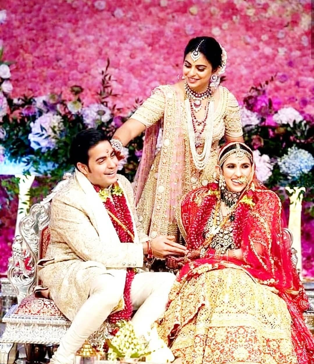 Shloka Mehta and Akash Ambani's wedding