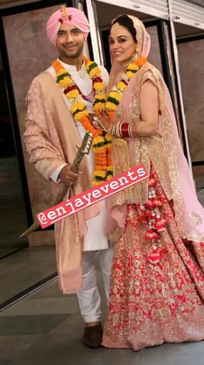Ripci Bhatia and Sharad Malhotra