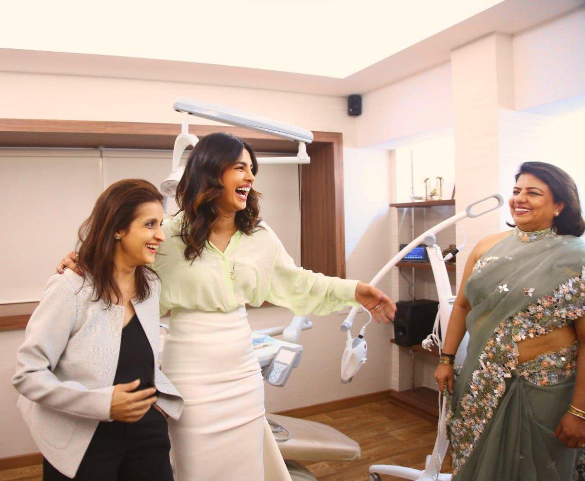 Priyanka Chopra Jonas and Madhu Chopra