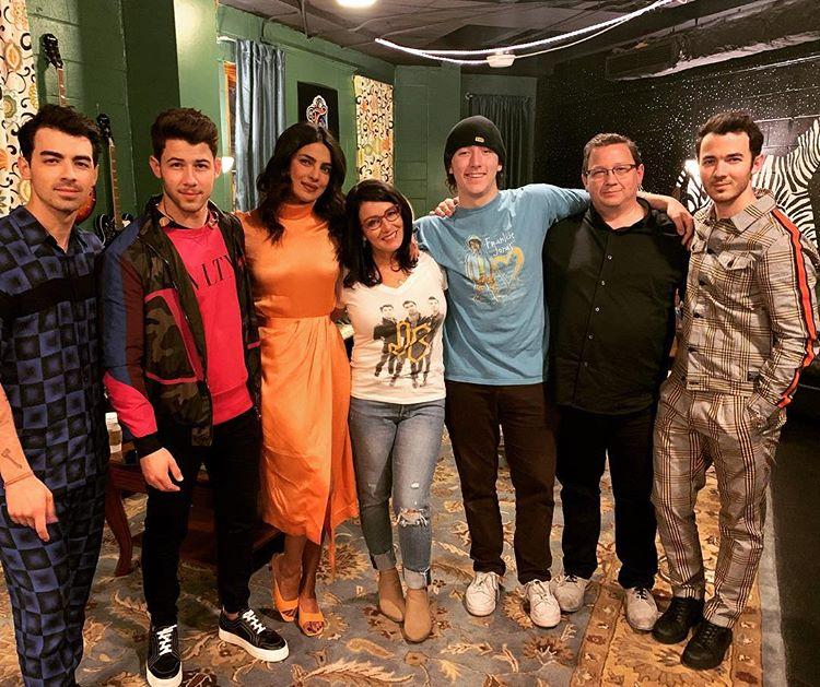 Priyanka Chopra first Jonas Brothers' concert