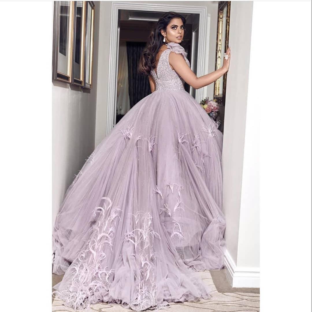 Isha Ambani's Met Gala 2019 lilac gown