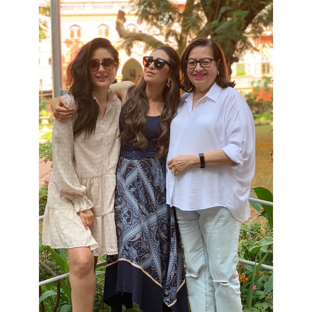 Kareena Kapoor Khan, Karisma Kapoor and Babita Kapoor's lunch date