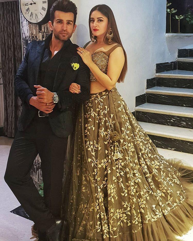 Mahhi Vij and Jay Bhanushali