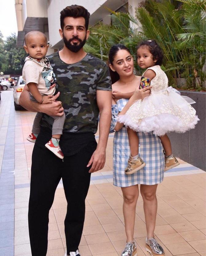 Mahhi, Jay and adopted kiids